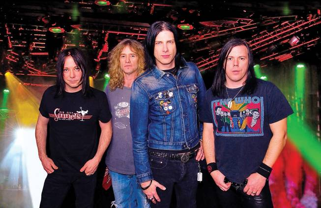 The Sin City Sinners are, from left, Brent Muscat, Rob Cournoyer, Todd Kerns and Mike Szuter.