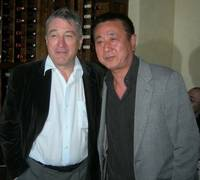 Robert De Niro and chef Nobu Matsuhisa.
