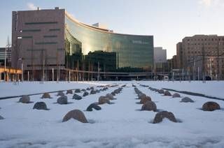 The Cleveland Clinic in Cleveland, Ohio, seen on Monday, Feb. 2, 2009.