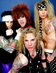 The motley crew that is Steel Panther.