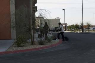 Officials are about to enter Security Savings Bank, which was taken over by the Nevada Financial Institutions Division on Friday. The Federal Deposit Insurance Corp. is the receiver.