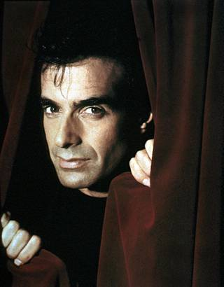 Magician David Copperfield.