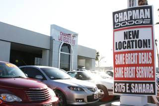 Chapman Dodge is now open at its new location on 3175 E Sahara Ave, near Boulder Highway.