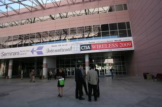 CTIA Wireless 2009 is underway at the Las Vegas Convention Center.