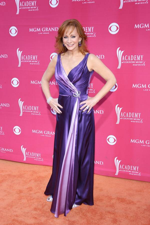 Reba McEntire at the Academy of Country Music Awards at MGM Grand Garden Arena in Las Vegas on April 5, 2009.