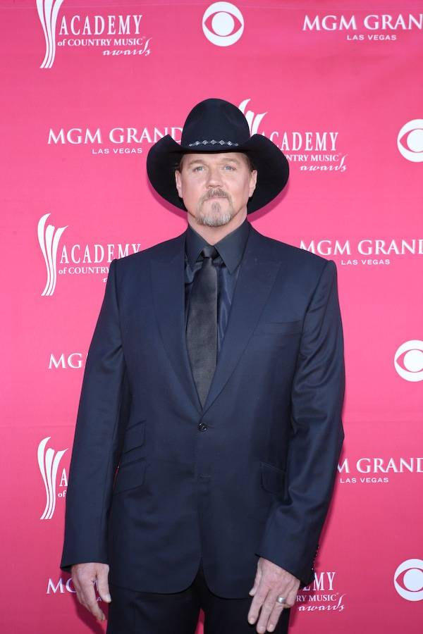 Trace Adkins at the Academy of Country Music Awards at MGM Grand Garden Arena in Las Vegas on April 5, 2009.