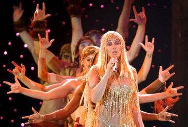 Hold onto your acupuncture needles and age-defying moisturizers, diva extraordinaire and Las Vegas headliner Cher is turning 63 Wednesday.