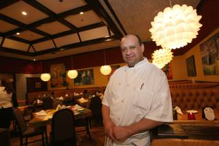 Chef Enrique Tinoco recently relocated his restaurant, Tinoco's Kitchen, from the Arts Factory to inside the Vegas Club Casino on Fremont Street.
