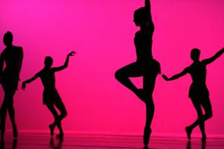 Dancers from Nevada Ballet Theatre perform