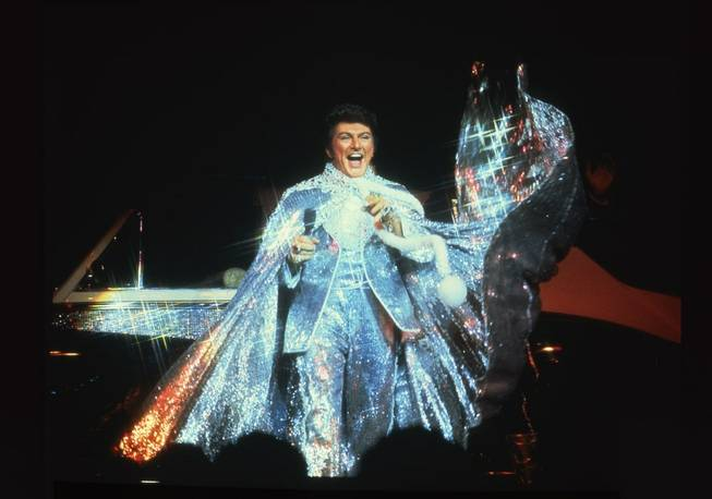 Liberace, in full glitter.