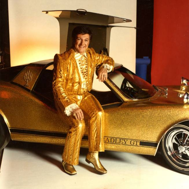 The golden Liberace.