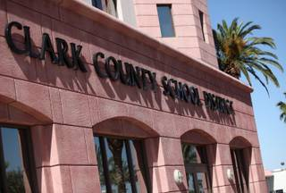 Superintendent of Schools Walt Rulffes discussed the reorganization of the administration of the Clark County School District Friday at the School District offices in Las Vegas.