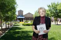 Carolyn Goodman says she started the Meadows School because she feared public schools were not adjusting to the county's changing demographics.