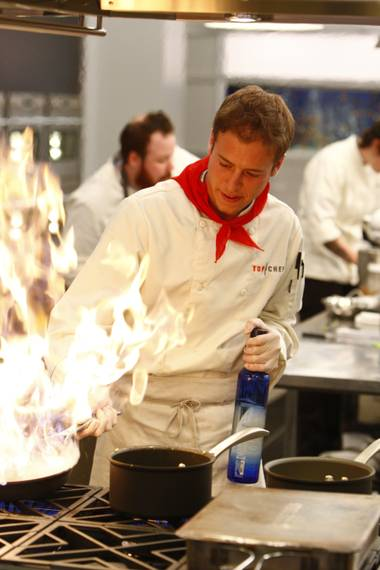 The chefs had to think outside the kitchen on the fifth episode of Top Chef: Las Vegas.