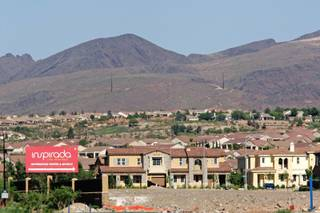 Inspirada, a master-planned community in Henderson, is shown May 11, 2009.