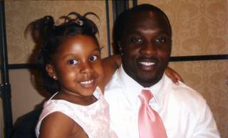 Metro Officer James Manor and his daughter, Jayla Manor.