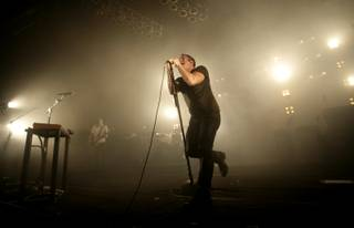 Nine Inch Nails performs at the Pearl at the Palms Monday night followed by a set from Janes Addiction.