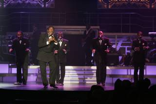 The Terry Forsythe Group plays the Temptations during