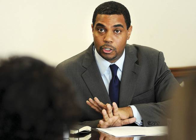 Steven Horsford, D-Las Vegas: Had no choice but to give in, or he could have been left without an alternative to governor's budget.