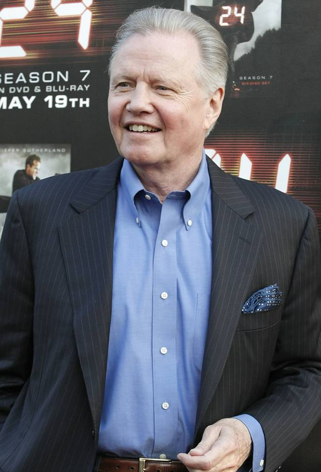 "Actor Jon Voight arrives at the ""24"" Season 7 finale screening and panel discussion in Los Angeles on Tuesday, May 12, 2009. Voight will be honored at this year's CineVegas film festival in Las Vegas, which runs June 10-15."