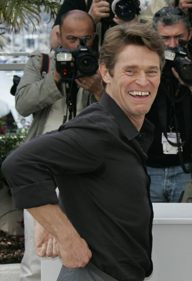 Actor Willem Dafoe poses during a photo call for the film 'Antichrist', during the 62nd International film festival in Cannes, southern France, Monday, May 18, 2009. Dafoe will be honored at this year's CineVegas in Las Vegas.