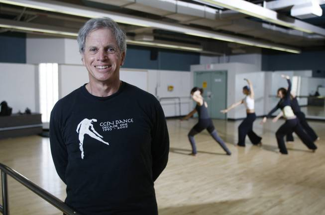 Dancer and choreographer Kelly Roth poses in a dance studio at the College of Southern Nevada's Cheyenne Campus on Friday, May 29 2009.Roth heads the contemporary dance troupe Kelly Roth and Dancers, which performs at the Onyx Theatre in June, and he runs the annual Dance in the Desert program that brings local and national dancers together. He also founded the dance program at CSN.