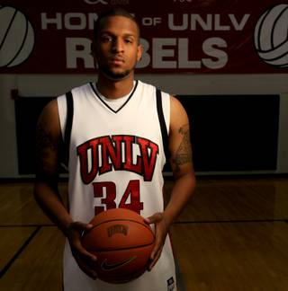 UNLV junior forward Matt Shaw, who tore the ACL in his right knee last summer, looks to bolster the Rebels' post production this season upon his return.