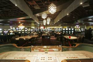 The remodeled table game area in Club Fortune Casino in Henderson is photographed Wednesday, May 27, 2009.