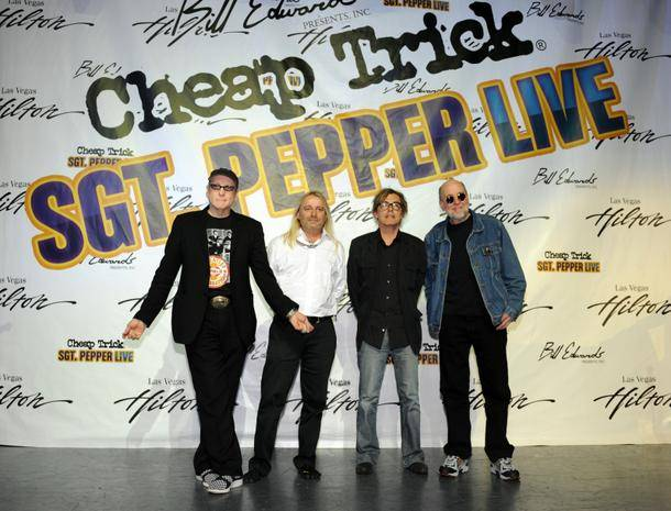 Cheap Trick will be performing <em>Sgt. Pepper Live</em> at the Las Vegas Hilton in September.