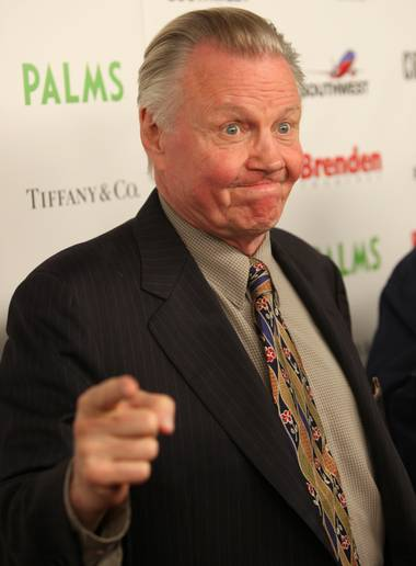 """Obama is a person that's influenced by Marxists,"" Jon Voight said on the red carpet before the CineVegas Honorees Reception. ""We're going to have to pay very close attention (to him)."""