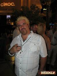 The Guy Fieri look-a-like from last year's CineVegas closing party.