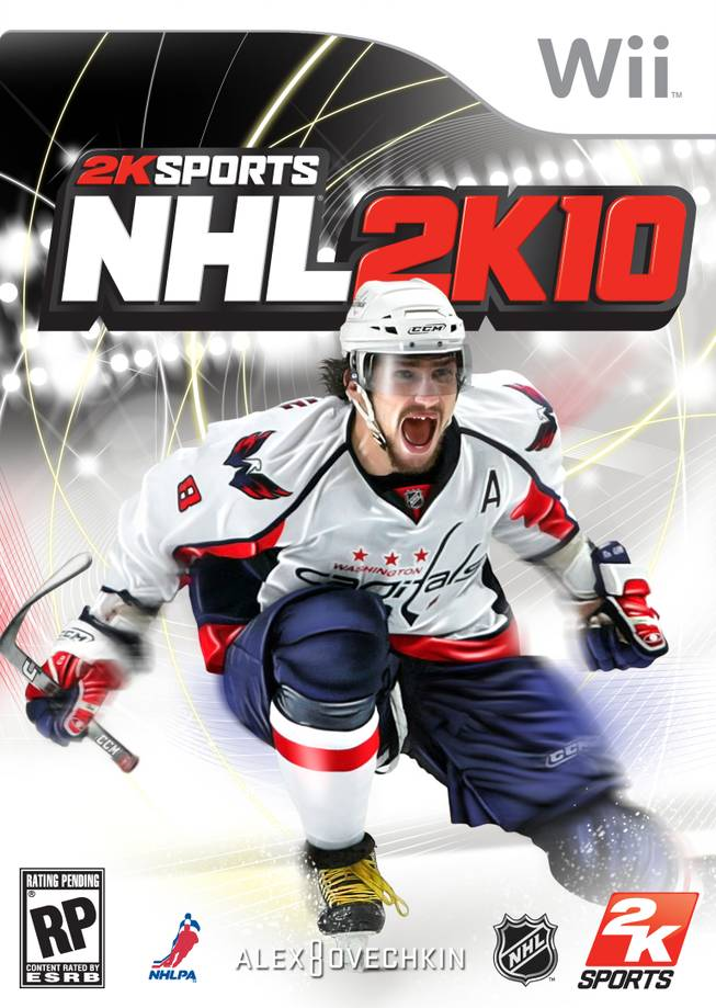 The cover of NHL 2K10