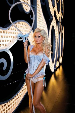 Holly Madison begins her run as Bo Peep in Peepshow at Planet Hollywood on June 22.