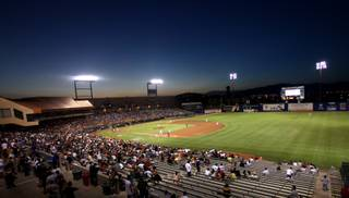 More than 9,000 people came to watch the 51s take on Reno at Cashman Field Thursday night. The night ended with a Las Vegas win and a fireworks display.