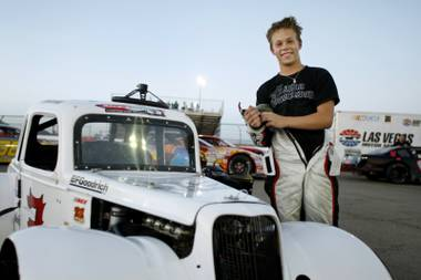 Dylan Kwasniewski, whose surname should strike you as familiar, is already a 10-year driving veteran and a multiple-points champion at Las Vegas Motor Speedway.