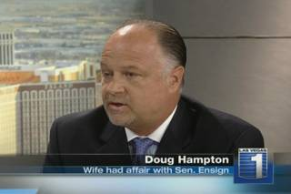 Doug Hampton speaks publicly for the first time Wednesday about his wife's affair with Sen. John Ensign on