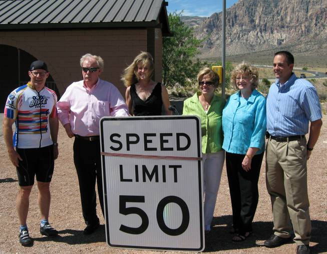 Red Rock Safety Speed Zone