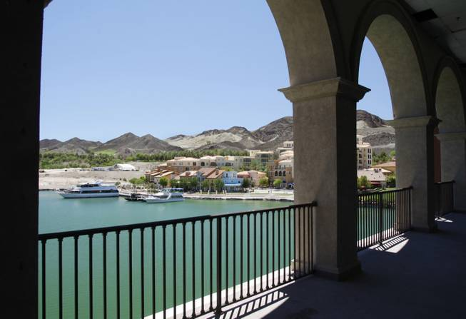 A view of MonteLago Village at Lake Las Vegas in Henderson, Nevada, July 13, 2009.