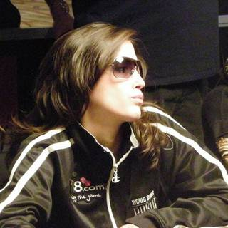 Leo Margets, from Barcelona, is the last woman remaining in the World Series of Poker Main Event.
