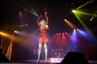 Charo performs at the Riviera in Las Vegas on Wednesday, July 15, 2009.