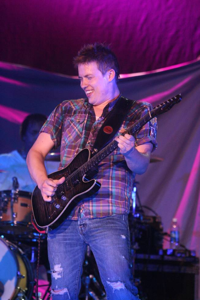 Jonny Lang played Saturday,  July 25, 2009, at Star of the Desert Arena in Primm.