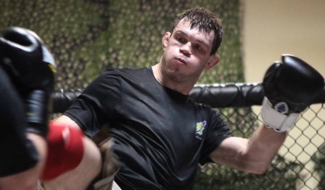 Forrest Griffin Workout