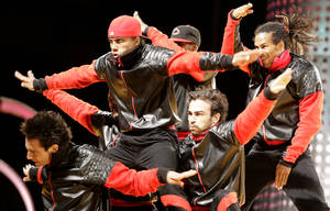 R.A.F. Crew of France performs during the 2009 World Hip Hop Dance Championship Adult Division held at the Orleans Arena Sunday.