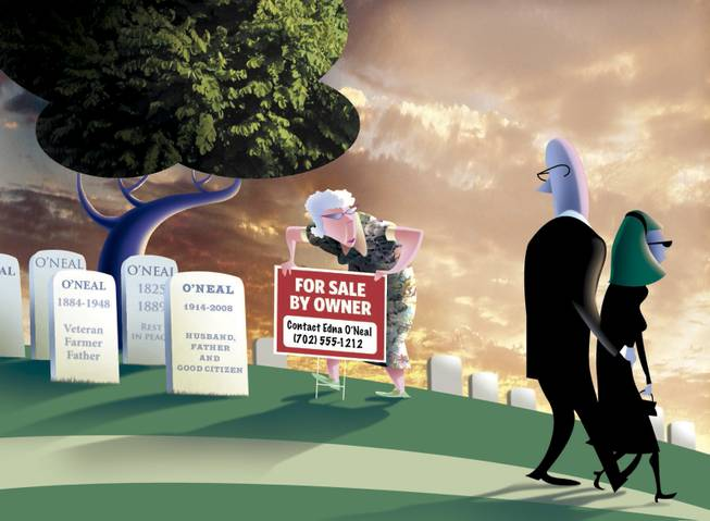 Taking money out of their own graves - Las Vegas Sun Newspaper