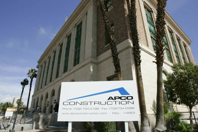 APCO Construction's $11.5 million mob museum contract bid survived a legal challenge from a competitor over the city's bidding practices.