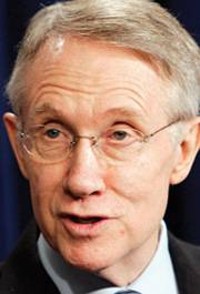 Sen. Harry Reid wants tax incentives for conversion of natural gas to vehicle fuel.