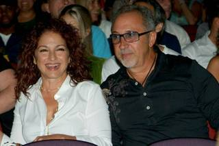 Gloria Estefan and Emilio Estefan.