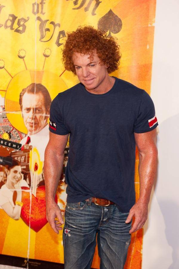 Luxor headliner Carrot Top at CHI Theater in Planet Hollywood.