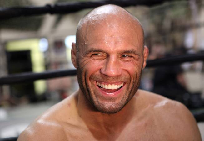 Randy Couture Work Out