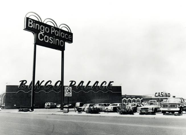 The Bingo Palace, which Frank Fertitta Jr. would eventually rename Palace Station.